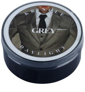 Kringle Candle Grey čajová sviečka 35 g