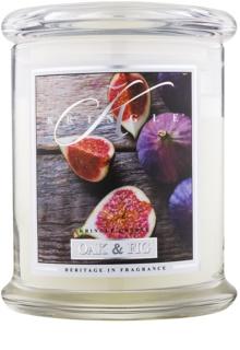 Kringle Candle Oak & Fig ароматизована свічка  411 гр