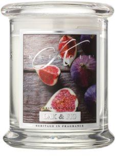 Kringle Candle Oak & Fig ароматизована свічка  240 гр