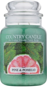 Kringle Candle Country Candle Pine & Pomelo bougie parfumée 652 g