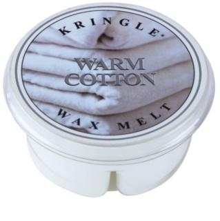 Kringle Candle Warm Cotton Wachs für Aromalampen 35 g
