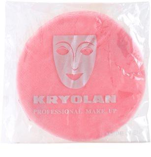 Kryolan Basic Accessories велурен тампон за пудра малка