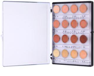 Kryolan Dermacolor Camouflage System mini paleta de correctores en crema de alta cobertura 16 tonos