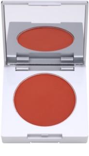 Kryolan Basic Face & Body kompaktes Rouge mit Pinsel und Spiegel