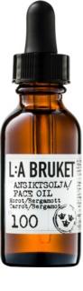 L:A Bruket Face arcszérum bergamottal és sárgarépával