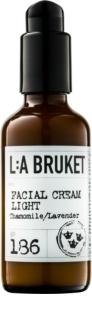 L:A Bruket Face легкий крем для обличчя з лавандою та ромашкою