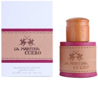 La Martina Cuero Mujer туалетна вода для жінок 50 мл