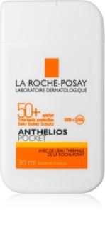 La Roche-Posay Anthelios Pocket védő arckrém érzékeny és intoleráns bőrre SPF50+