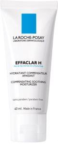 La Roche-Posay Effaclar nyugtató és hidratáló krém problémás és pattanásos bőrre