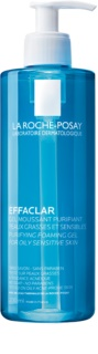 La Roche-Posay Effaclar дълбоко почистващ гел за мазна чувствителна кожа