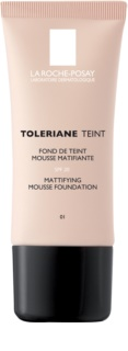 La Roche-Posay Toleriane Teint Mattifying Mousse Make - Up For Mixed And Oily Skin