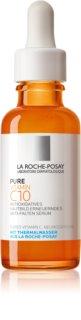 La Roche-Posay Pure Vitamin C10 aufhellendes Serum gegen Falten mit Vitamin C