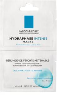 La Roche-Posay Hydraphase upokojujúca hydratačná maska pre citlivú a suchú pleť