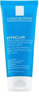 La Roche-Posay Effaclar máscara de limpeza para reduzir o sebo cutâneo e minimizar os poros