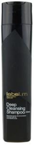 label.m Cleanse champú limpiador para cuero cabelludo sensible