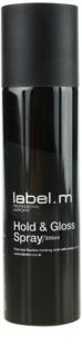 label.m Complete лак за коса за фиксация и блясък