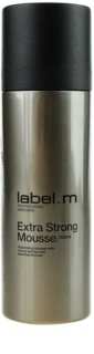 label.m Create mousse fixante fixation extra forte