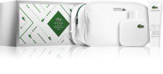 Lacoste Eau de Lacoste L.12.12 Blanc zestaw upominkowy III. dla mężczyzn