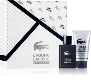 Lacoste L'Homme Lacoste Intense set cadou I. pentru barbati
