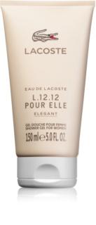 Lacoste Eau de Lacoste L.12.12 Pour Elle Elegant tusfürdő nőknek 150 ml