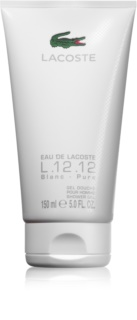 Lacoste Eau de Lacoste L.12.12 Blanc gel douche pour homme 150 ml (sans emballage)