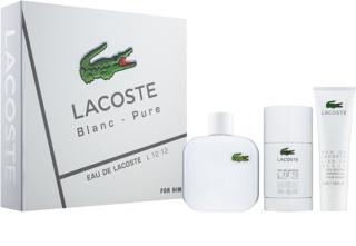 Lacoste Eau de Lacoste L.12.12 Blanc dárková sada XII.