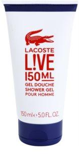 Lacoste Live gel douche pour homme 150 ml