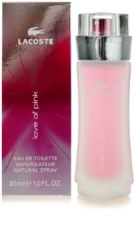 Lacoste Love of Pink eau de toilette nőknek 30 ml