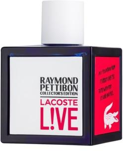 Lacoste Live Raymond Pettibon Collector´s Edition eau de toilette pour homme 100 ml
