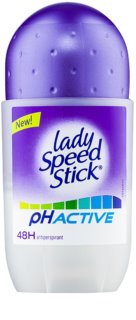 Lady Speed Stick PH Active Antiperspirant Roll-On 48h
