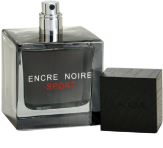 Lalique Encre Noire Sport туалетна вода тестер для чоловіків 100 мл
