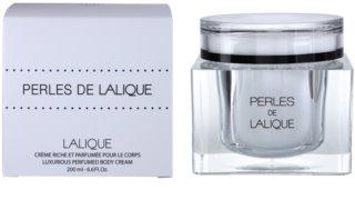 Lalique Perles de Lalique tělový krém pro ženy 200 ml