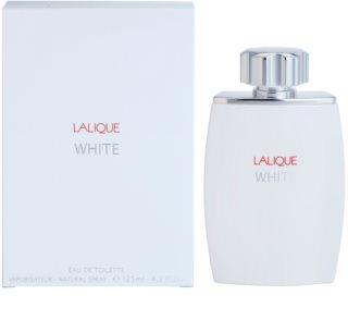 Lalique White Eau de Toillete για άνδρες 125 μλ