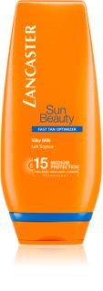 Lancaster Sun Beauty hedvábné opalovací mléko SPF15