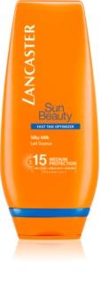 Lancaster Sun Beauty lapte hranitor cu protectie solara  SPF 15