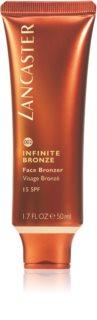 Lancaster Infinite Bronze gel abbronzante viso SPF15