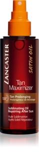 Lancaster Tan Maximizer Herstellende Droge Olie voor Langeraanhoudende Bruining
