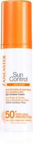 Lancaster Sun Control слънцезащитен крем за околоочния контур SPF 50+