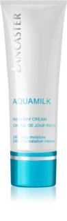 Lancaster Aquamilk crema de día hidratante nutritiva