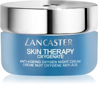 Lancaster Skin Therapy Oxygenate нощен крем против бръчки  за озаряване на лицето