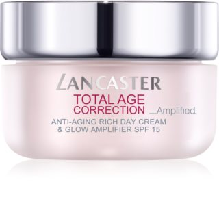Lancaster Total Age Correction _Amplified crema nutriente antirughe illuminante