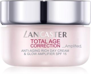 Lancaster Total Age Correction _Amplified crema hranitoare anti-rid pentru o piele mai luminoasa