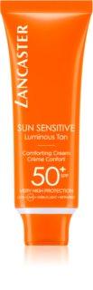 Lancaster Sun Sensitive crema abbronzante viso SPF 50+