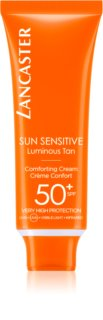 Lancaster Sun Sensitive krema za sončenje za obraz SPF 50+