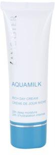 Lancaster Aquamilk crema hidratante para pieles secas y muy secas