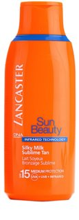 Lancaster Sun Beauty mleczko do opalania SPF 15