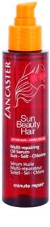 Lancaster Sun Beauty Hair sérum régénérateur à l'huile pour cheveux exposés au chlore, au soleil et à l'eau salée