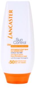 Lancaster Sun Control Bräunungsmilch für empfindliche Haut SPF 50