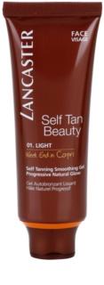 Lancaster Self Tan Beauty gel bronzant cu efect de netezire fata