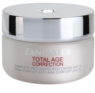 Lancaster Total Age Correction Anti-Faltencreme für trockene bis sehr trockene Haut